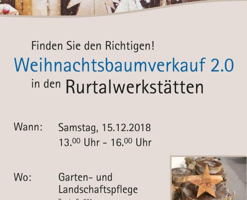 Weihnachtsbaumverkauf 2.0 - Rurtalwerkstätten Düren